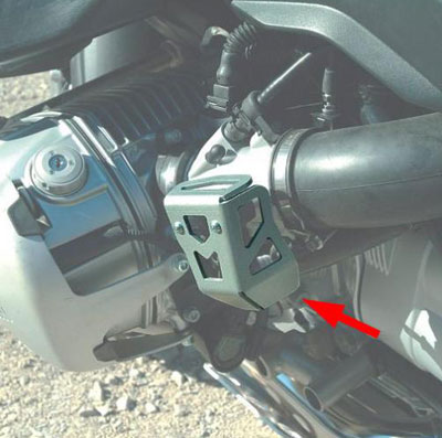 Touratech Throttle Potentiometer Cover