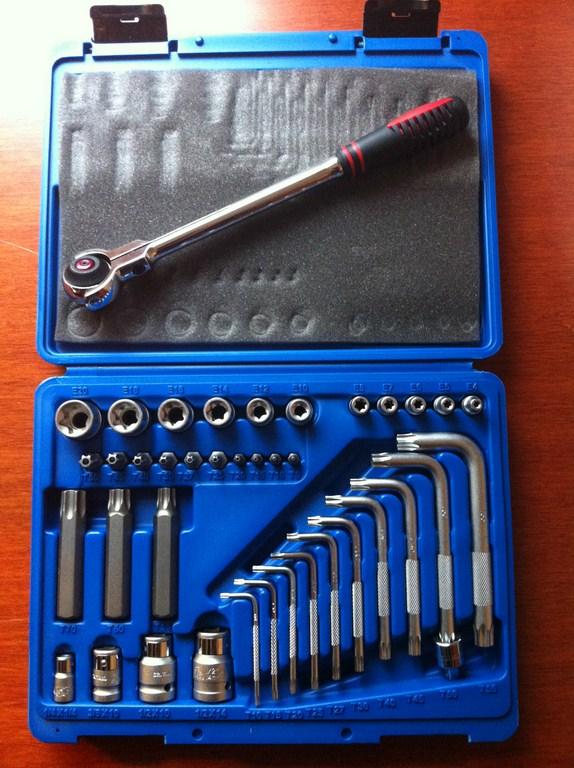 Biltema Torxsett, 38 parts (open)