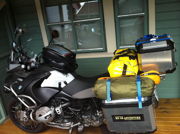 Packed and ready to leave for Sweden and Adventure Days 2011