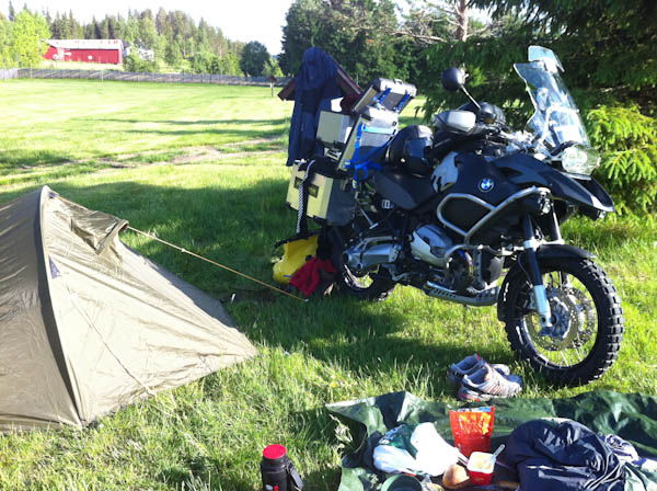 Camping near Trysil