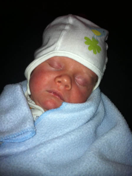 My most recent nephew - Eric (22 days old)