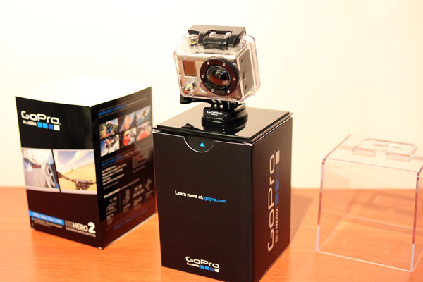 Unboxing the GoPro HD HERO2