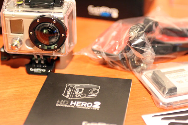 I can't wait to go to bed and study the GoPro HD HERO2 user manual
