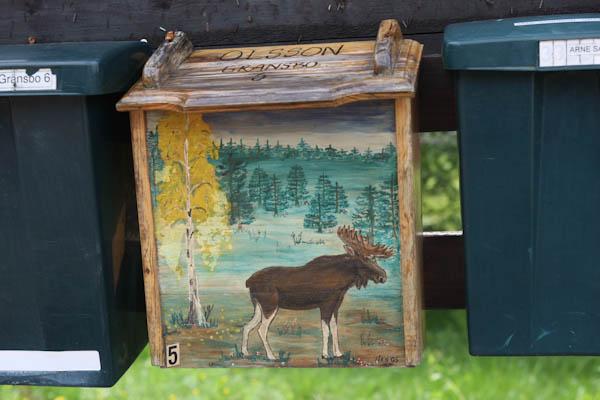 A Swedish mailbox