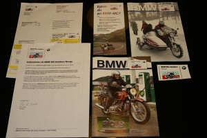 Welcome gift from BMW MC-klubben Norge