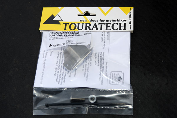 ABS sensor protector from Touratech