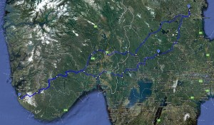 My route to Adventure Days 2011