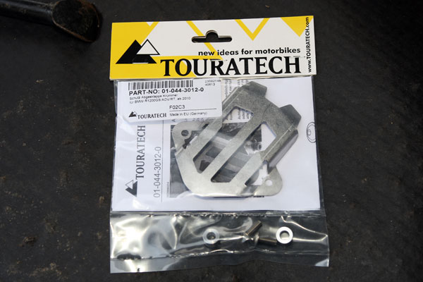 The Manifold Exhaust Flap Protection from Touratech