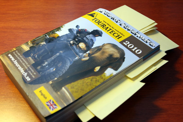 Planning my first order from Touratech